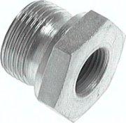 1/4 IG Zoll Anschluss Verbindungsstück MS Druckluft-Reduzierung von 3/8 AG Auto & Motorrad: Teile Teile & Zubehör